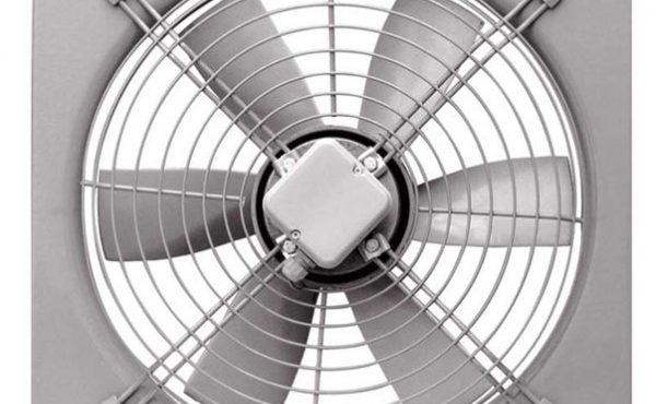 تصویری از یک هواکش صنعتی خنک کننده دمنده