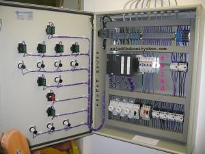 یک مدل از تابلو برق صنعتی