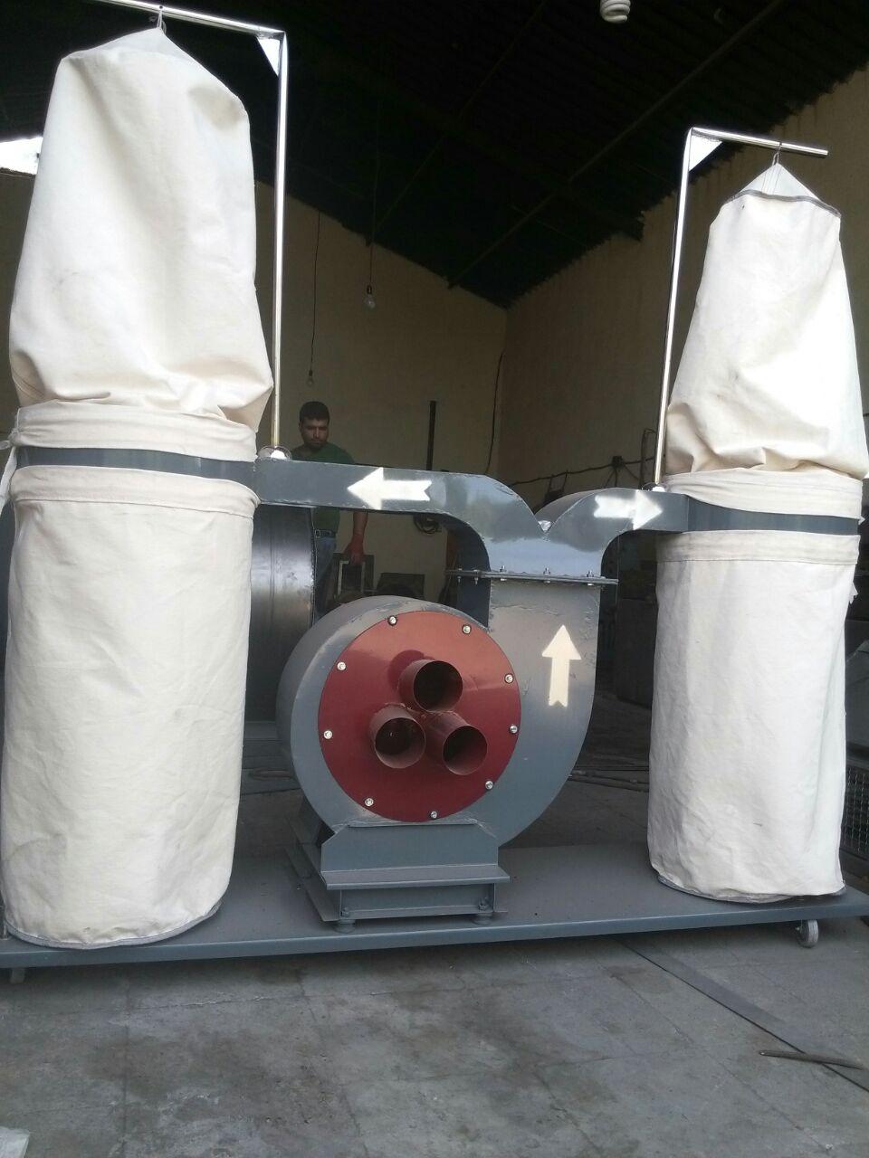 نمونه ای از دستگاه مکنده صنعتی