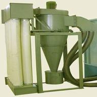 تصویری از یک دستگاه سیکلون
